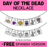 Day of the Dead Activity Necklace Craft