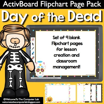 Day of the Dead ActivBoard Flipchart Pages Pack