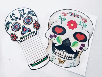 Day of the Dead Activities Including PowerPoint, Flipbook, and Google Slides™