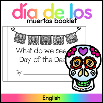 Day of the Dead Activity Book - High Frequency Word : see
