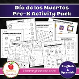 Day of the Dead Activity Pack for PreK - Kindergarten