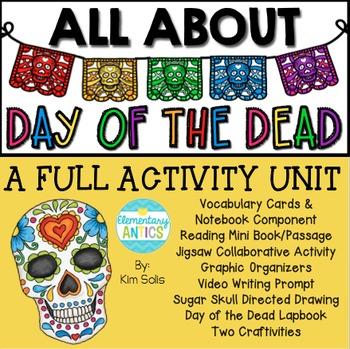 Day of the Dead Activity Unit {Dia de los Muertos}