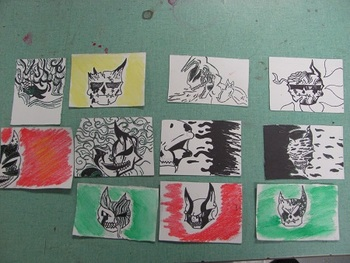 Day of the Dead Artist Trading Card Lesson Plans