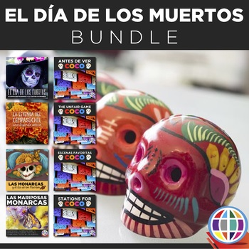 Day of the Dead BUNDLE - Spanish (El Día de los muertos) plus COCO