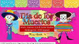 Day of the Dead California & Texas Book 4  K-CCSS ELA, Math, SS, Science SPED