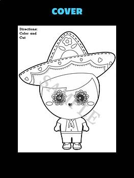 Day of the Dead Boy Craftivity - Jackie's Crafts, Activity, dia de los muertos
