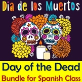 Day of the Dead Bundle for Spanish Class - Power Point, Vo