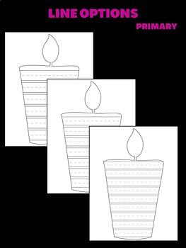 Day of the Dead Candle Craftivity - Jackie's Craft, Activity, dia de los muertos