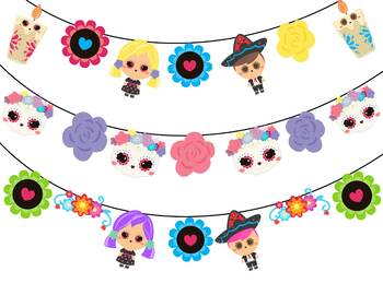 Day of the Dead - Classroom Decor Garland Banner