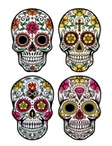 Day of the Dead Clay Sugar Skulls
