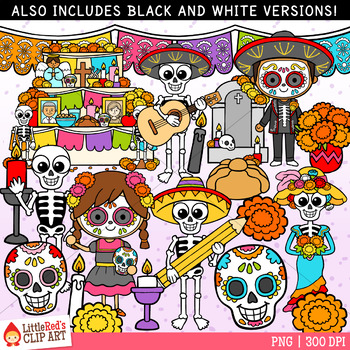 Day of the Dead Clip Art