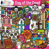 Day of the Dead Clip Art {Dia de los Muertos Sugar Skull,