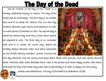 Day of the Dead Close Read