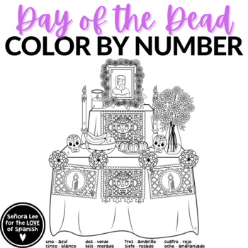 Day of the Dead Color by Number