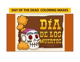 Day of the Dead Coloring Masks