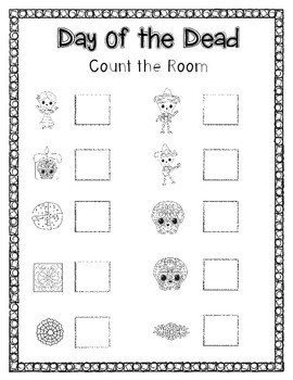 Day of the Dead - Count the Room (Black Line)