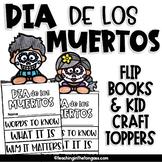 Day of the Dead Activities Dia de Los Muertos Flip Book