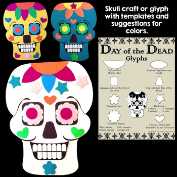 Day of the Dead Craft and Flip Book Activities
