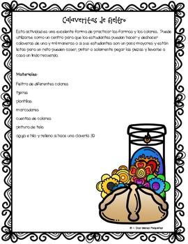 Day of the Dead Craftivity  ~  Manualidades Día de los muertos