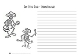 Day of the Dead - Creative Writing Worksheet (ESL Version)