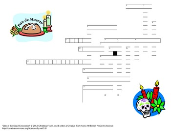 Day of the Dead Crossword