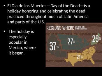 Day of the Dead / Dia De Los Muertos Powerpoint