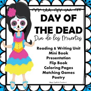 day of the dead dia de los muertos printables lit reading writing unit