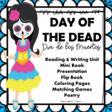 Day of the Dead - Dia de Los Muertos - Printables - Lit Reading & Writing Unit