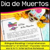 Dia de los Muertos Activities Spanish (Day of the Dead)
