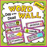 Día de los Muertos Activities Spanish/English WORD WALL