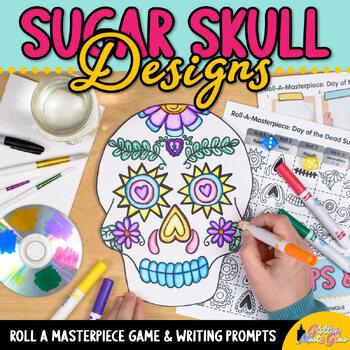 Day of the Dead Dia de los Muertos Art History Game {Art Sub Plans for October}
