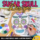 Day of the Dead Dia de los Muertos Art History Game | Art Sub Plans for October