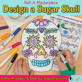 Day of the Dead Dia de los Muertos Art History Game, Art Sub Plans, Prompts