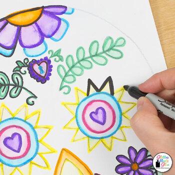 Day of the Dead Dia de los Muertos Art History Game, Art Sub Plans, Prompts