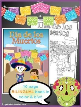 Day of the Dead Dia de los Muertos BILINGUAL Activity Pack