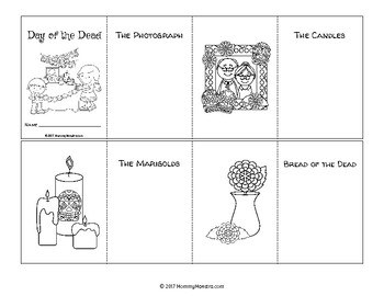 Day of the Dead - Día de los Muertos - Booklets