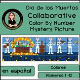 Day of the Dead, Día de los Muertos Color By Number COLLAB