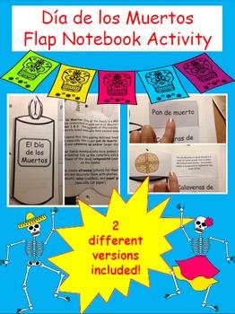 Day of the Dead/ Día de los Muertos- Flap Notebook Activity
