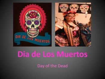 Day of the Dead /Dia de los Muertos History and Art Activity