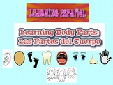Day of the Dead Dia de los Muertos Learning Spanish Body parts activity