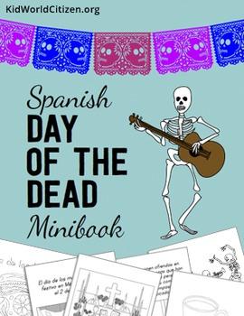 Day of the Dead / Día de los Muertos Minibook ~ Spanish Language
