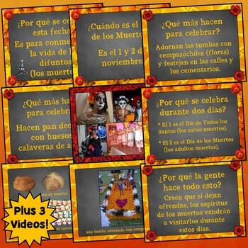 día de los muertos spanish day of the dead powerpoint presentation