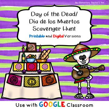 Day of the Dead/Dia de los Muertos Scavenger Hunt