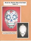 Day of the Dead (Dia de los Muertos) decorated skull