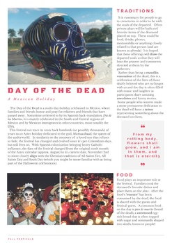 Day of the Dead - ESL Readings & Discussions