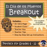 Day of the Dead - El Día de los Muertos - Breakout EDU