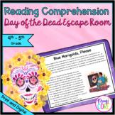 Day of the Dead Escape Room - 4th & 5th Grade Reading - Pr