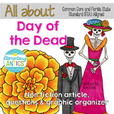 Day of the Dead FSA & CCSS Aligned Reading Practice| Dista