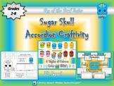 Day of the Dead & Halloween Sugar Skull Accordion Craftivity