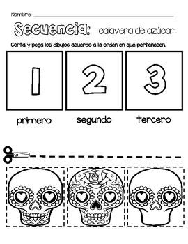 Day of the Dead / Día de los muertos English and Spanish Centers